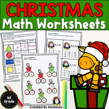 Common Core Christmas Math Review