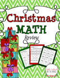 Christmas Math Review