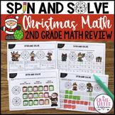Christmas Math Review (Second Grade)