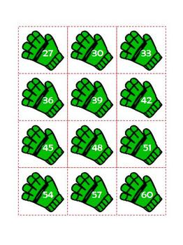 Christmas Math Review - Skip Counting! Games and Worksheets