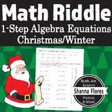 Christmas - Math Riddle - Double Digit Subtraction Worksheet - Fun Math