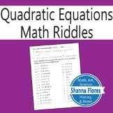 Christmas - Math Riddle - Factoring Polynomials Worksheet - Fun Math