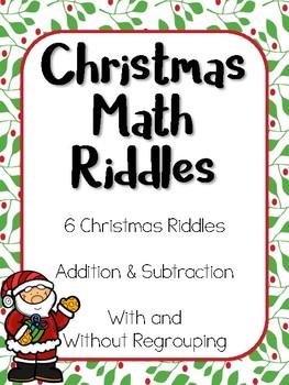 Christmas Math Riddles