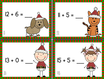 Christmas Scoot BUNDLE! {Addition/Subtraction)