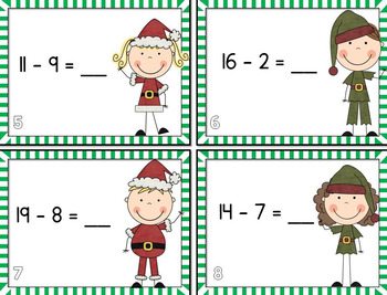 Christmas Scoot BUNDLE! {Addition/Subtraction)