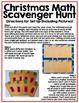 Christmas Math Scavenger Hunt