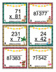 Christmas Math Scoot - 4th Grade