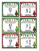 Christmas Math Scoot - 4th Grade