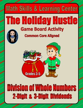 Christmas Math Skills & Learning Center (Division with 2- & 3-Digit Dividends)