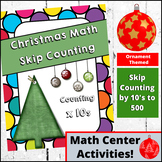 Christmas  Math - Skip Counting by 10s (Ornament Themed)