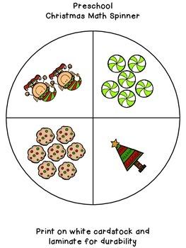 Christmas Math Spinners