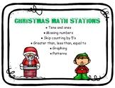 Christmas Math Stations