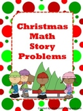 Christmas Math Story Problems