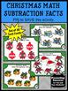 Christmas Math Activities, Kindergarten Subtraction Task Cards, Christmas Games