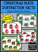 Christmas Math Centers Subtraction Facts Kindergarten Game