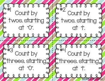 Christmas Math Task Card Fun!