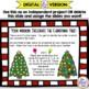 Christmas Math Task Card Set of 24 Tasks with Answer Keys