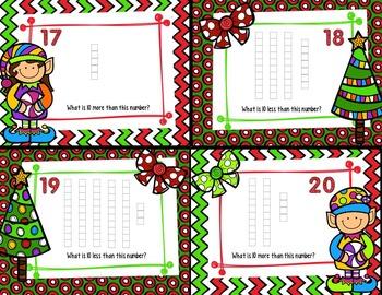 Christmas Math Task Cards: 4 Sets