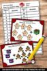 Christmas Math Activities, Kindergarten Addition Facts Task Cards & Games SCOOT