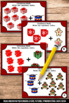 Christmas Kindergarten Math Centers Addition Facts Task Ca