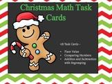 Christmas Math Task Cards (CCSS - 4th Grade)