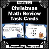 Christmas Math Activities, 1st Grade 2nd Grade Math Center