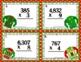 Christmas Math Task Cards for 4th Grade: Multiplication: M
