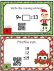 Christmas Math Task Cards & QR Codes