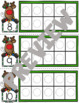 Christmas Math Centers | Ten Frames | Counting Mats | Playdough Mats