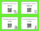 Christmas Math: Time Conversion: Minutes & Seconds QR Code Task Cards