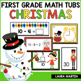 Christmas Math Centers - First Grade