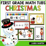 Christmas Math Centers | First Grade