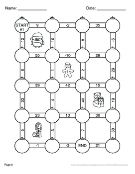 Christmas Math: Two Step Equations Maze