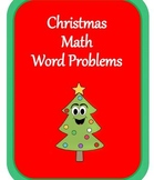 Christmas Math Word Problem Fun