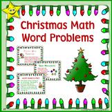 Christmas Math Problem Solving (Word Problems)