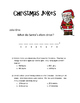 Christmas Math Word Problems - Add and Sub with Regrouping  (Mystery Joke)
