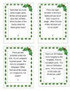 Christmas Math Word Problems (Writing Fractions)