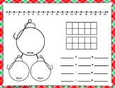 Christmas Math Work Mats for Common Core Math with Numbers