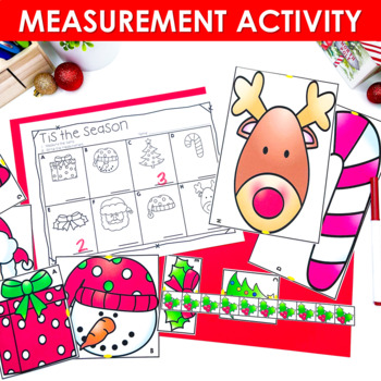 Kindergarten Math Centers ~ Christmas