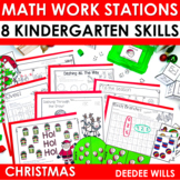Kindergarten Math Centers ~ Christmas