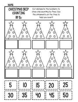 Christmas Math Worksheet Set