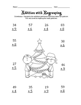 Christmas Math Worksheets 2nd Grade by Tools4School | TpT