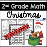 Christmas Math Worksheets 2nd Grade Common Core