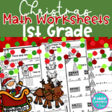 Christmas Math Worksheets First Grade