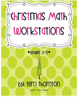 Christmas Math Workstations
