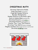 Christmas Math - addition, subtraction, multiplying, fract
