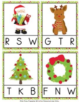 Christmas Math and ELA Activity Bundle