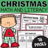 **Christmas Worksheets