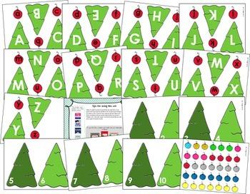Christmas Math and Language Activity Bundle