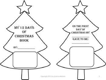 Christmas Math and Language Arts Activity Pack